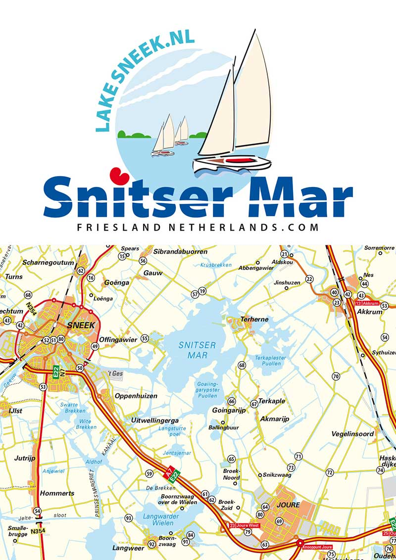 Snitser Mar: internationale advertentiecampagne, website en toeristenkaart
