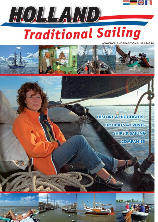 Holland Traditional Sailing multimediaal: zeer informatief magazine, grote eilandstand op Boot Düsseldorf, advertenties en website.